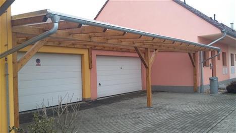 Stání pro 4 auta - Zavadilka České Budějovice