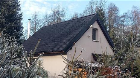 Rekonstrukce chaty - Borovnice