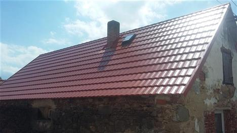 Rekonstrukce střechy - Krejnice - po rekonstrukci