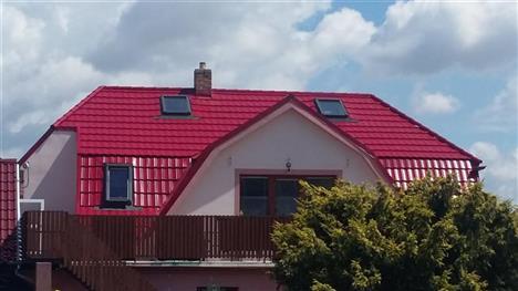 Rekonstrukce střechy - Týn nad Vltavou