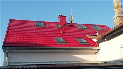 rekonstrukce střechy - Dobrá Voda České Budějovice