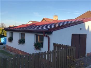 rekonstrukce střechy - Kamenný Újezd