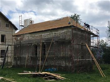 Rekonstrukce kostela - Špičák