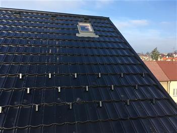 rekonstrukce střechy Třešňová - České Budějovice