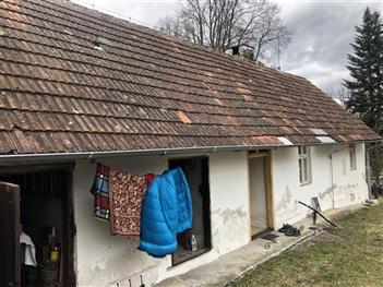 Rekonstrukce střechy - Dobrkovská Lhotka - před rekonstrukcí