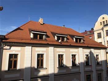 Rekonstrukce střechy - České Budějovice