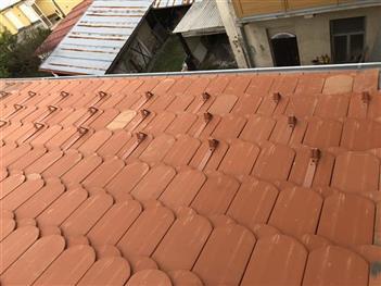 Střecha - BD Novohradská 6  Českéh Budějovice