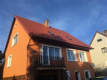 Rekonstrukce střechy - Radimovice u Želče