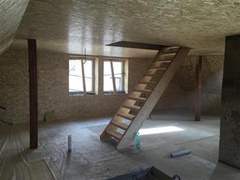 Rekonstrukce podkroví - Radimovice u Želče - po rekonstrukci