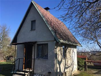 Rekonstrukce chaty - Soběslav - před rekonstrukcí