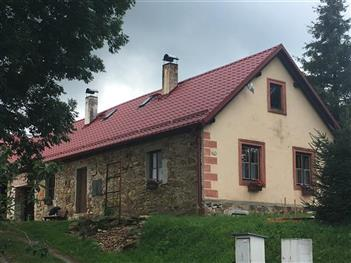 Rekonstrukce střechy Práčov - Český Krumlov (po rekonstrukci)