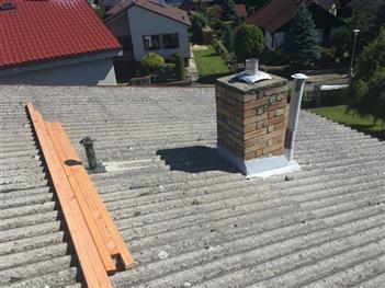 Rekonstrukce střechy - Suchdol nad Lužnicí - před rekonstrukcí