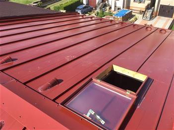 Rekonstrukce střechy - Suchdol nad Lužnicí - po rekonstrukci