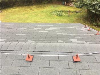Rekonsrtukce střechy - Polžov