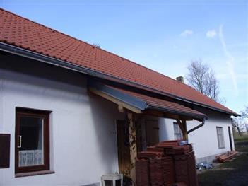 rekonstrukce střechy Jankov - po rekonstrukci