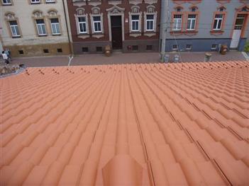 Rekonstrukce střechy Dobrovodská  České Budějovice