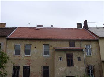 Rekonstrukce střechy Dobrovodská  České Budějovice ( po rekonstrukci )