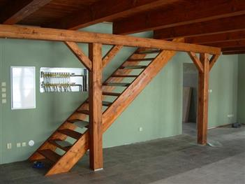 dřevěný interiér