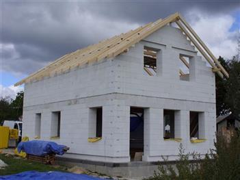 realizace krovu v obci Vitín