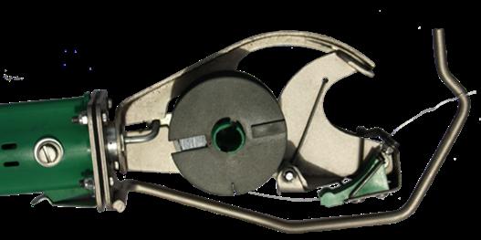 Kunststoffspule VitisSpool L für die Bindung vorbereitet