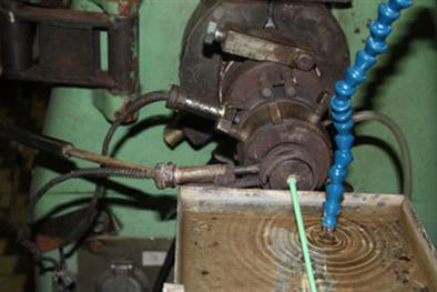 Vytlačování vázací bužírky INTRISFLEX